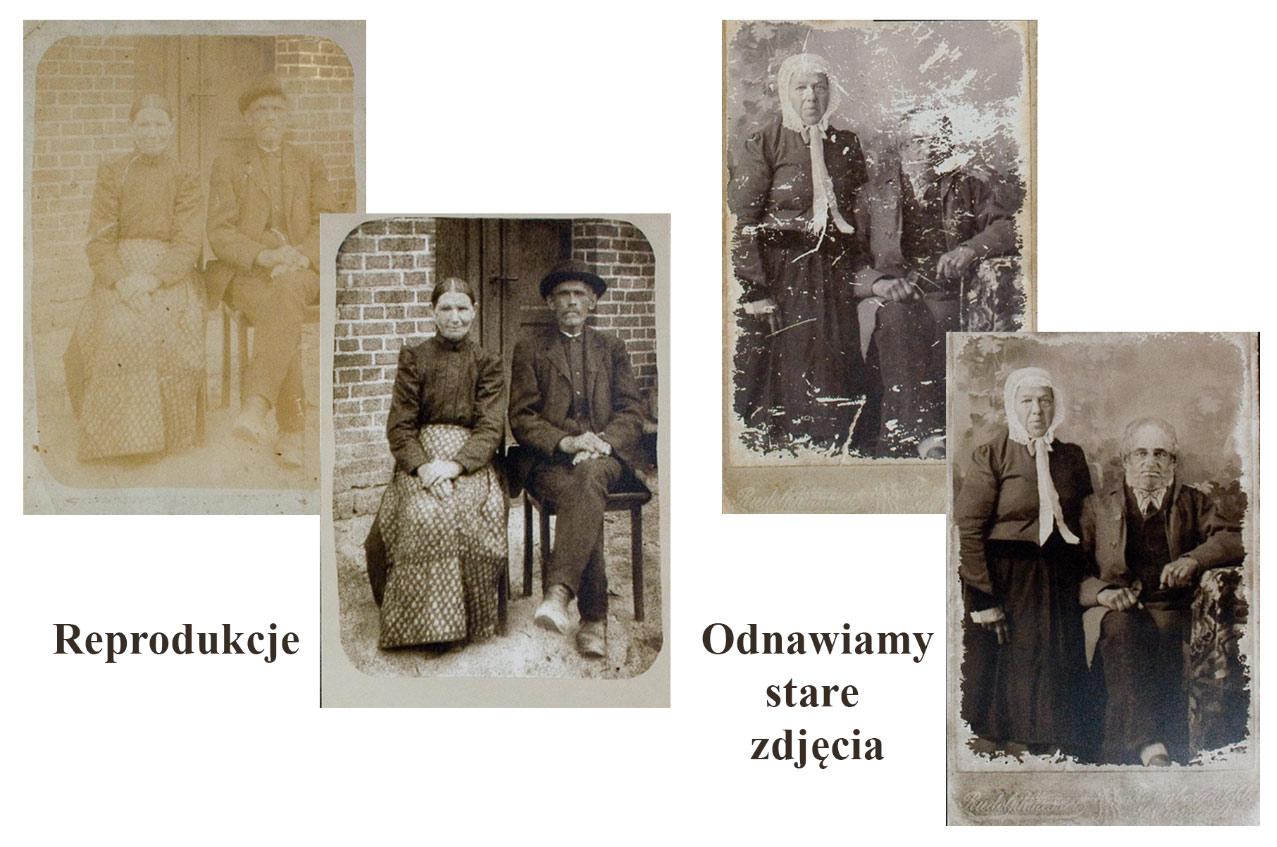 Odnawianie starych zdjęć